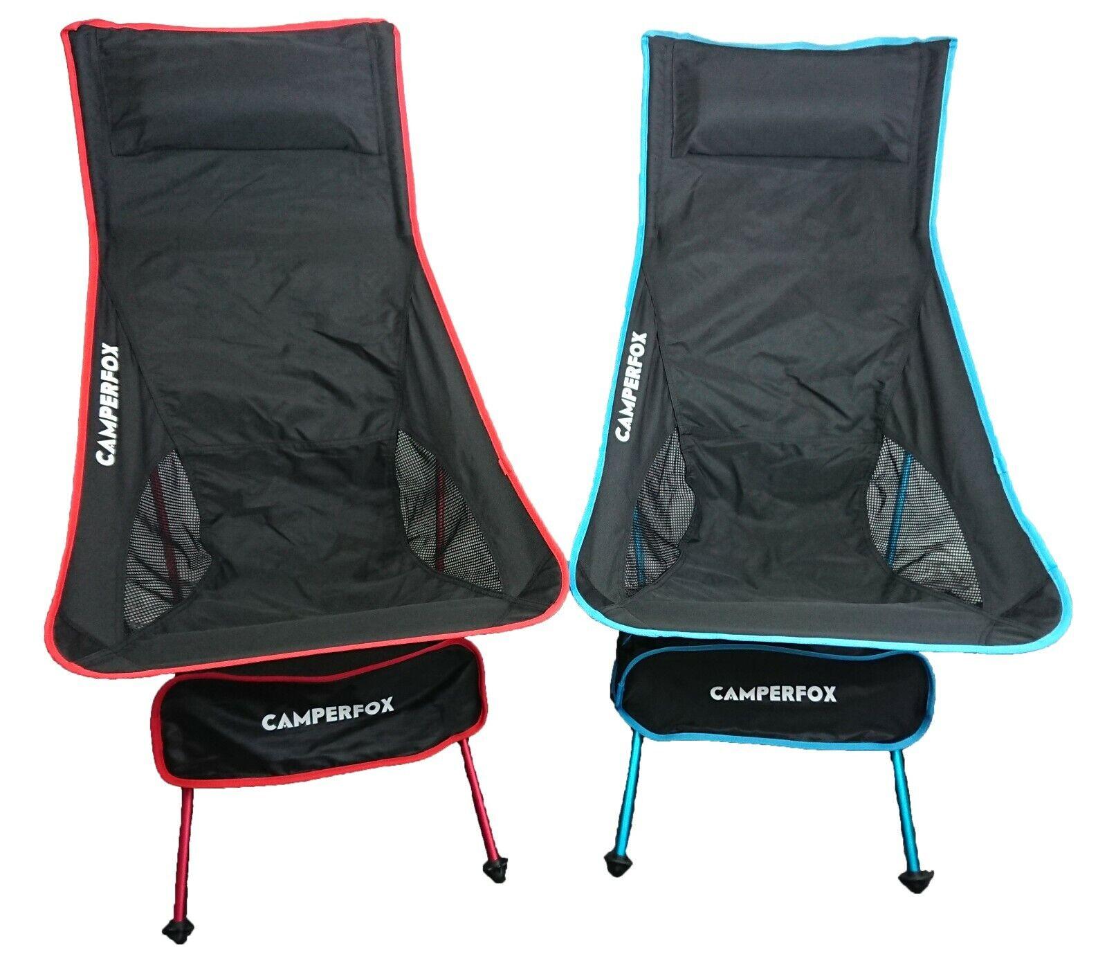 Campingstühle klappbar, sehr guter Zustand, rot+blau, Campingstuhl Set