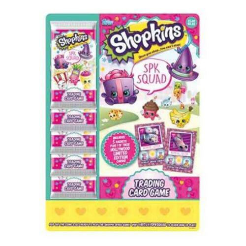 Shopkins Trading Cards and Accessories