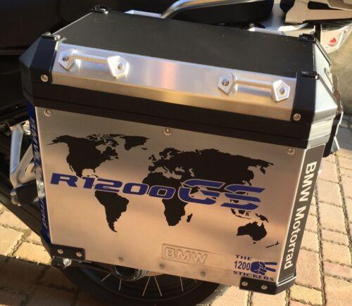 "BMW Gs /"" World /"" Monde Stickers Adhésifs Stickers Adhésif The1200stickers"