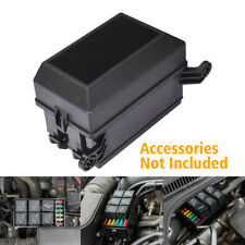 MICTUNING 12-Slot Relay Box 6 Relays 6 ATC/ATO Fuses Holder Block Automotive