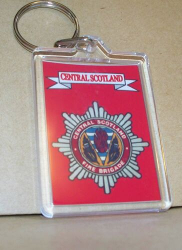 Central Scotland Fire and Rescue Service key ring..