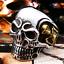 Anello-Teschio-Skull-Uomo-Acciaio-Donna-Argento-Oro-Incisioni-Personalizzate miniatura 3