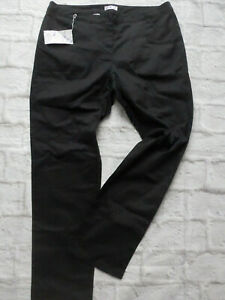 Sheego-Pants-Chino-Trousers-Cloth-Trousers-Black-Size-44-917