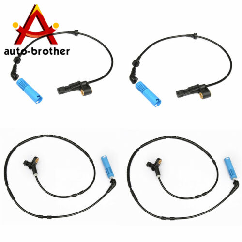 FRONT REAR LEFT RIGHT WHEEL ABS SPEED SENSORS For BMW 323ci 323i 325Ci 320i 4PCS