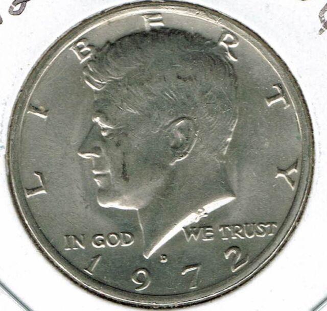 1972-D 50C Kennedy Half Dollar
