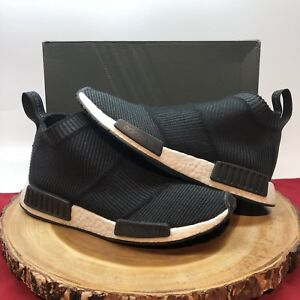 reputable site 3d564 fc04d Details about Adidas NMD CS1 PK Primeknit S32184 City Sock Black Winter  Wool Boost Size 10