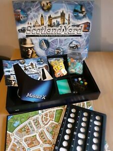 Scotland Yard Ravensburger Quality Board Game Hunt for Mr.X in London