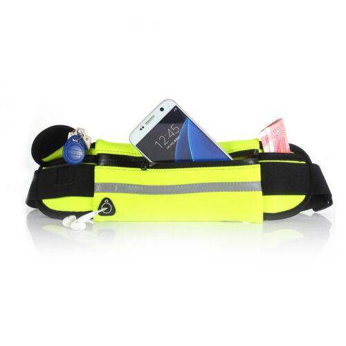 Imperméable Sport Runner Taille Bum Sac Running Jogging Ceinture Pochette Zip Fanny Pack