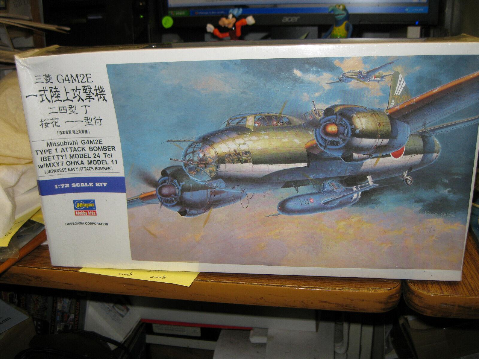 Hasegawa 00550-1//72 Mits G4M2E T.1 - Neu Betty