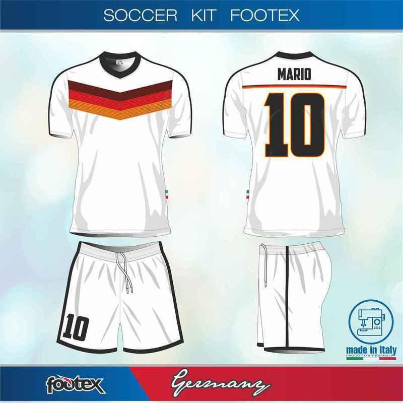 4 o + Completi Germany Personalizzabili Con Sponsor Nome e Numero Gratis