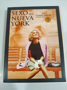 Sexe En Neuf York Fifth Saison Complète - 2 X DVD Castillan English