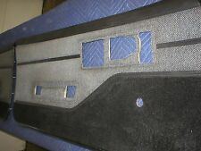 1982 - 92 Camaro Firebird Black /  Grey Rug /Combo Door Panels 85 86 87 88 89 90