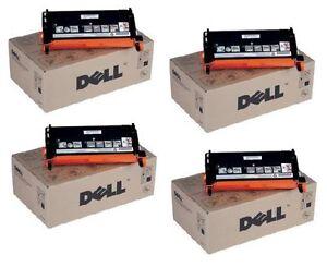 4-Original-Toner-DELL-3110cn-3115cn-High-Capacity-PF030-NF556-RF013-Cartridges