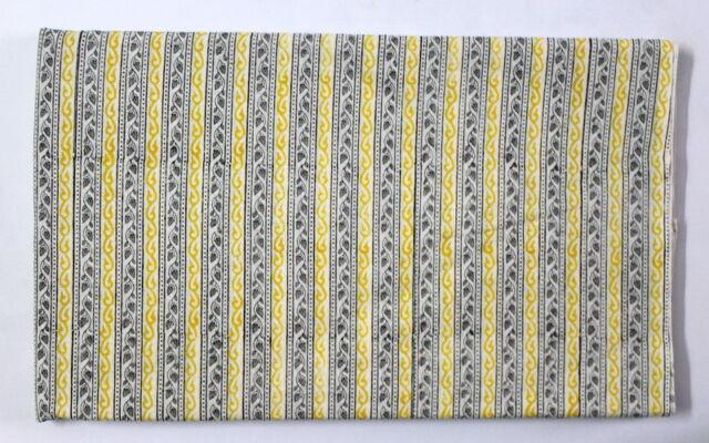Indian 100% Cotton cloth Lining Hand Block printed fabric sanganeri Fabric