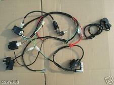WIRING LOOM HARNESS ELECTRIC START PIT DIRT MONKEY BIKE QUAD ATV FIRST CLASSPOST