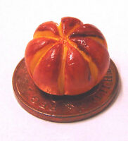 1:12 Small Crusty Hand Made Round Loaf Of Bread Dolls House Miniature Bakery