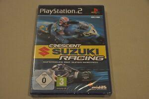 Playstation-2-Spiel-Crescent-Suzuki-Racing-komplett-Deutsch-PS2-Neu-OVP