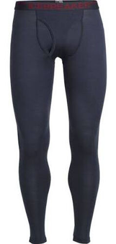 Icebreaker Apex Leggings with Fly (L) Stealth / Oxblood