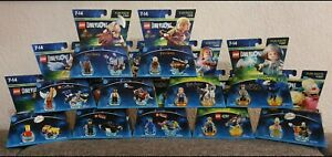 LEGO-Dimensions-Fun-Pack-level-pack-nuovo-Aquaman-Wonder-Woman-SIMPSONS-ecc