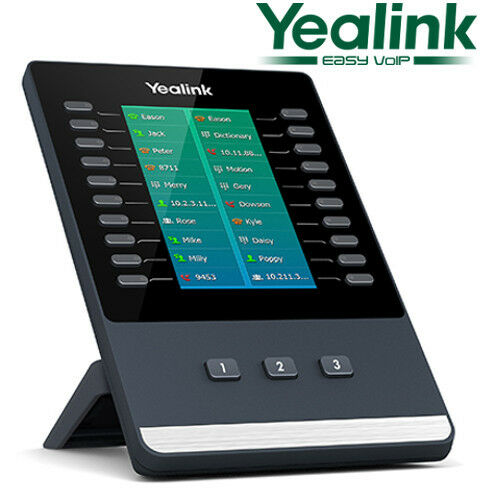 Yealink Color Screen Expansion Module for T5 SIP-T58V SIP-58A T56A T54S EXP50