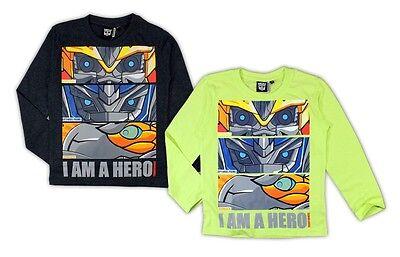 Transformers Shirt langarm 98 104 116 128 Langarmshirt Hasbro Pullover Bumblebee