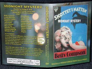 Misterio-DE-MEDIANOCHE-DVD-1930-Betty-Compson-Lowell-Sherman-Raymond-Hatton-Muy-Raro