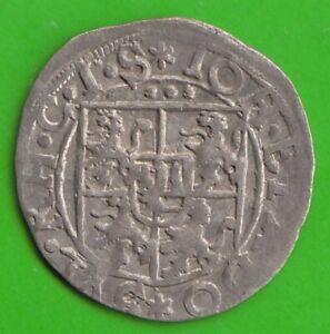 Salm-Grumbach 3 Kreuzer 1606-1611 IN XF Minting Weakness nswleipzig