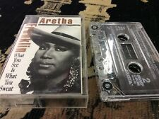 What You See Is What You Sweat by Aretha Franklin (CD, 1991, Arista)