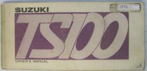Suzuki-TS100-A-1976-99011-25602-Motorcycle-Owners-Handbook