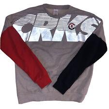 """CROOKS /& CASTLES speckle grey """"originator"""" jogger sweatpants"""