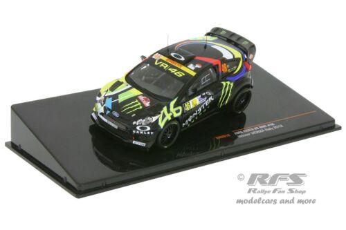 Ford Fiesta RS WRC 1:43 IXO RAM 618 Rallye Monza 2012 Valentino Rossi
