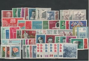 Germany-GDR-vintage-yearset-Yearset-1961-Mint-MNH-complete-Complete