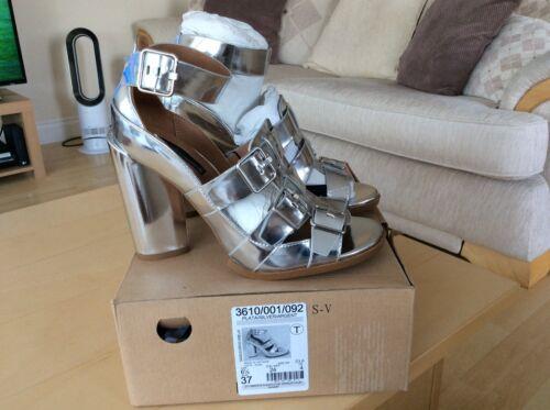 marque 4 argent par Stappy nouvelle sandales Zara taille Belle vqwOPdP