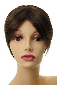 Toupet-Haarteil-Haarersatz-Aufsatz-Haarauffueller-Clip-In-Mittel-Braun-L008-8