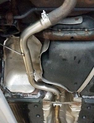 AUDI A3 8P 2.0 TFSI Centro Silenciador eliminar tubo resonador Mid ratificación Pipe