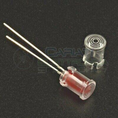 Pannello porta led cablati per diodi misura 5mm 10 PORTALED in PLASTICA