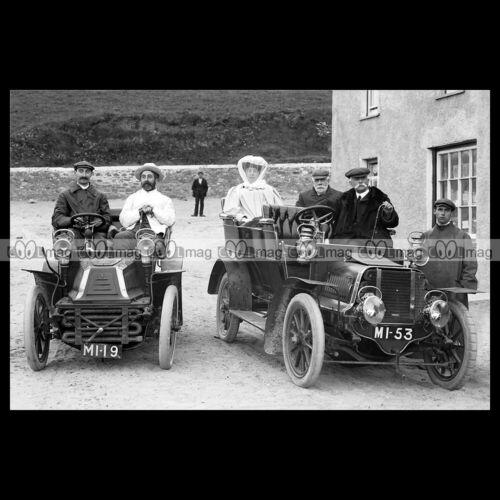 #pha.031132 Photo DE DION-BOUTON /& SUNBEAM 1903 Car Auto