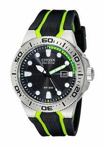 Citizen-Eco-Drive-Men-039-s-BN0090-01E-Scuba-Fin-Calendar-Black-Dial-46mm-Watch