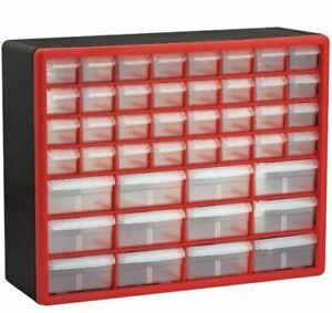 Small Parts Storage Craft Plastic Screw Cabinet Drawer Bin