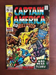 Captain-America-133-1971-7-5-VF-Marvel-Key-Issue-Comic-Bronze-Age-Falcon-App
