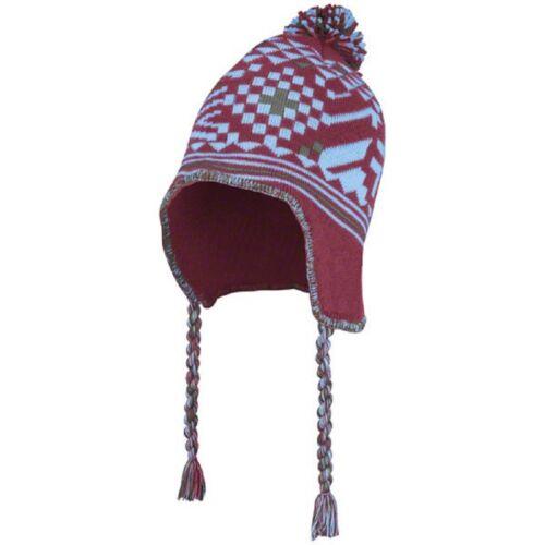 Rapids Peruvian Chullo Cap Artisan Knit Alpaca Soft Wide 1 Size Colorado Winter