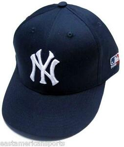 New York Yankees MLB OC Sports Hat Cap Solid Blue White NY Logo Team ... 82b142ca0da