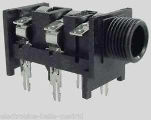 peavey 1 4 0 1 4in stereo input jack pc mount tube amp. Black Bedroom Furniture Sets. Home Design Ideas