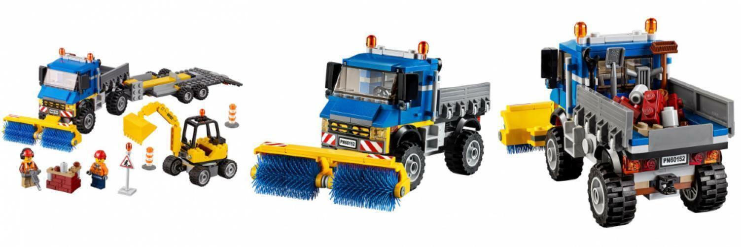 Lego City Grandes Vehículos Barrojoora & Excavadora 60152