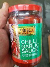 Lee Kum Kee chilli salsa Aglio 368g per cinese, BARBECUE, tailandese o Sichuan CIBO