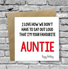 Item 1 10TH 13TH 16TH 21ST 30TH CARD HAPPY BIRTHDAY NIECE NEPHEW FUNNY RUDE JOKE AG13