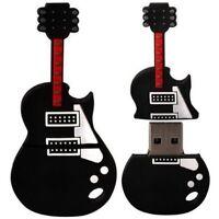 Portable 8GB Novelty Cute Guitar USB 2.0 Flash Drive Data Memory Stick Device