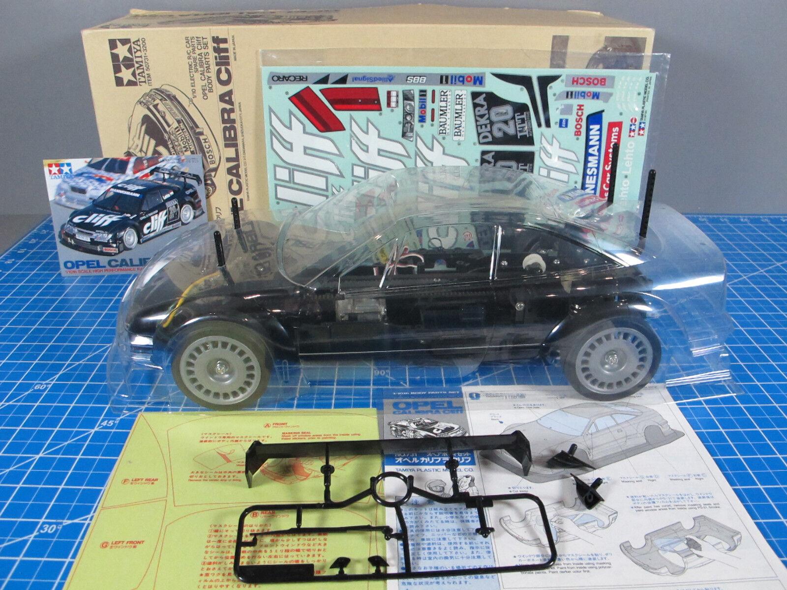 Vintage Tamiya 1 10 R C Opel  Calibra Cliff 50731 58188 FWD  Partial Built   tutto in alta qualità e prezzo basso