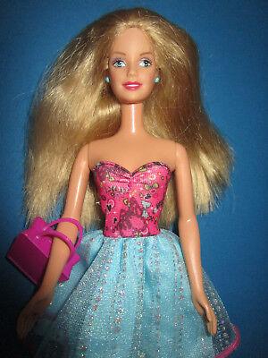 2019 Nuovo Stile B870-vecchia Bionda Barbie Mattel 1998 Corto Abito Estivo + Alta Scarpe + Borsa-he Schuhe+tasche It-it Mostra Il Titolo Originale