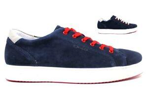 Scarpe-da-uomo-IgieCo-3132711-casual-sportive-basse-camoscio-sneakers-estive